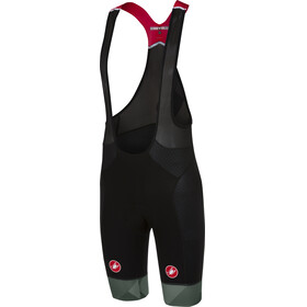 Castelli Free Aero Race Bibshorts Men black/forest gray